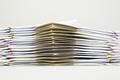 Pile of brown envelope between paperwork - PhotoDune Item for Sale