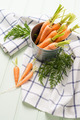 Carrots on wooden table - PhotoDune Item for Sale