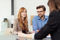 Young married couple in a meeting - PhotoDune Item for Sale