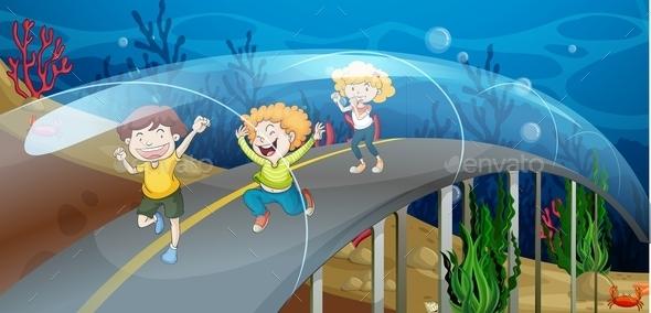 GraphicRiver Road Underwater 11570875
