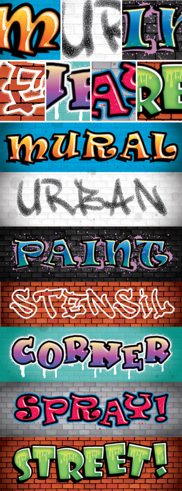 GraphicRiver Graffiti Text Styles 2 11570944