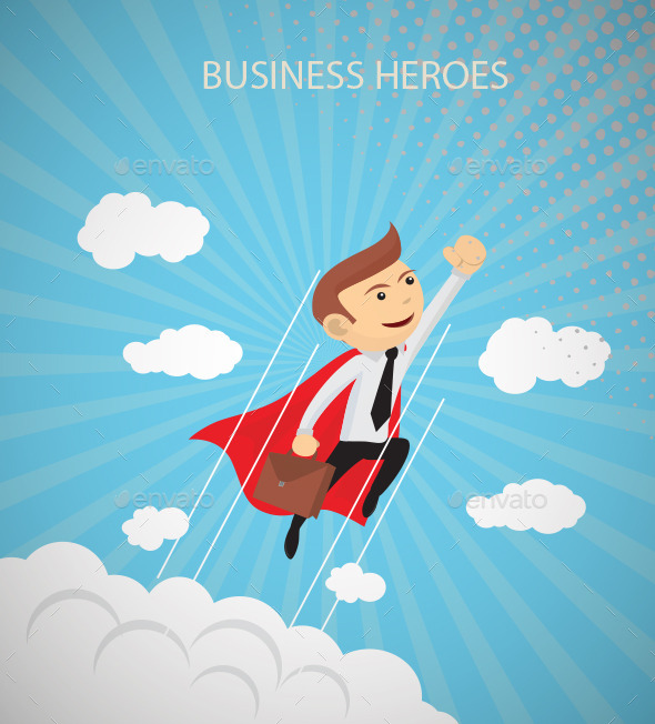 GraphicRiver Business Heroes 11571363