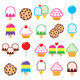 Sweets Icons - GraphicRiver Item for Sale