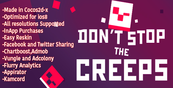 CodeCanyon Dont Stop the Creeps Template 11543014