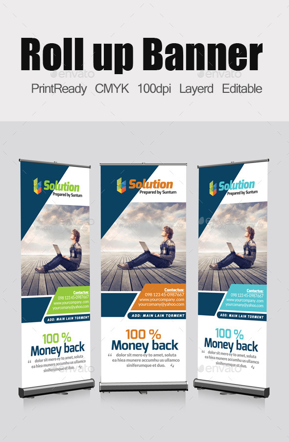 GraphicRiver Roll Up Business Banners Template 11572243