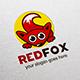 Fox Logo Template - GraphicRiver Item for Sale