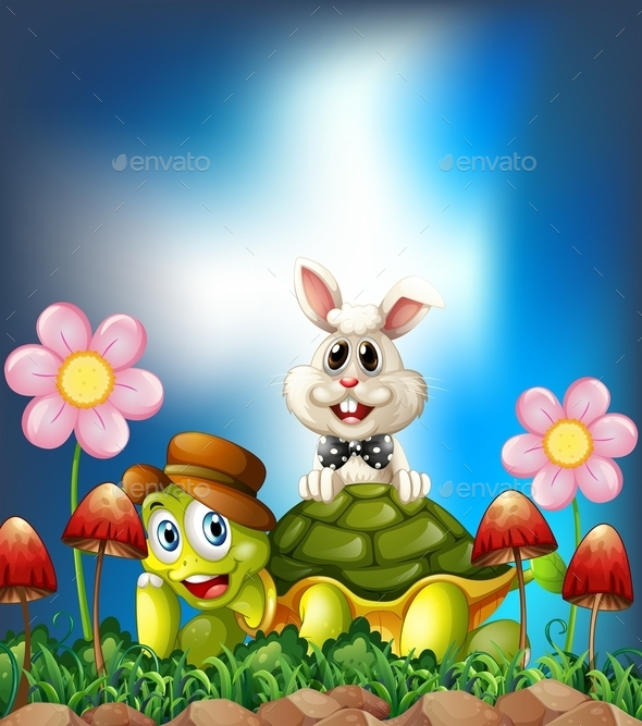 GraphicRiver Tortoise and Hare 11574215