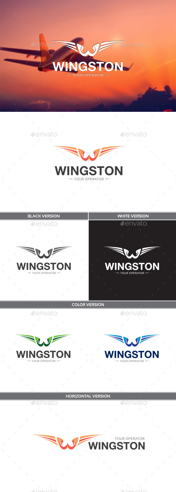 GraphicRiver Wingston 11576094