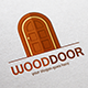 Wood Door Logo Template - GraphicRiver Item for Sale