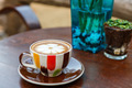 Coffee cup on table in cafe - PhotoDune Item for Sale