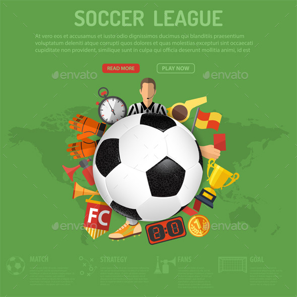 GraphicRiver Soccer Poster 11578275