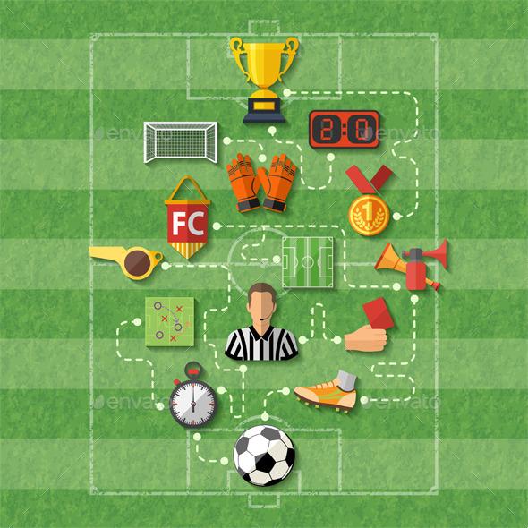 GraphicRiver Soccer Concept 11578287