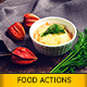 Actions for Food Photography - GraphicRiver Item for Sale