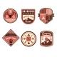 Vintage Outdoor Camp Badges and Logo Emblems - GraphicRiver Item for Sale