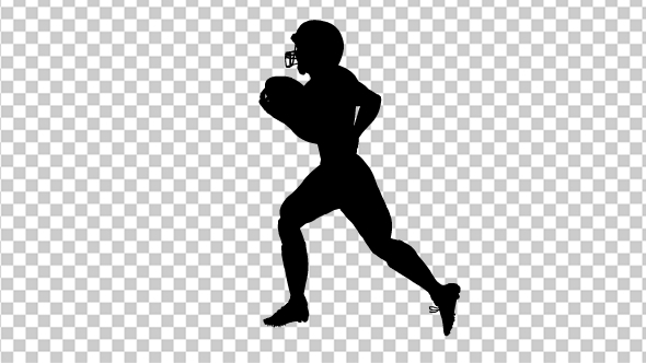 American Football silhouette