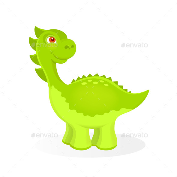 GraphicRiver Cartoon Dinosaur Character 11579489