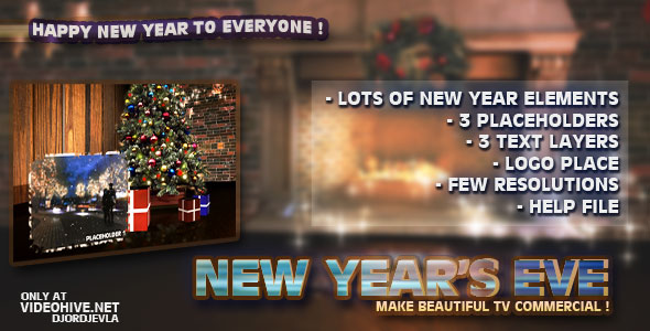 After Effects Project - VideoHive New Year's Eve 142617