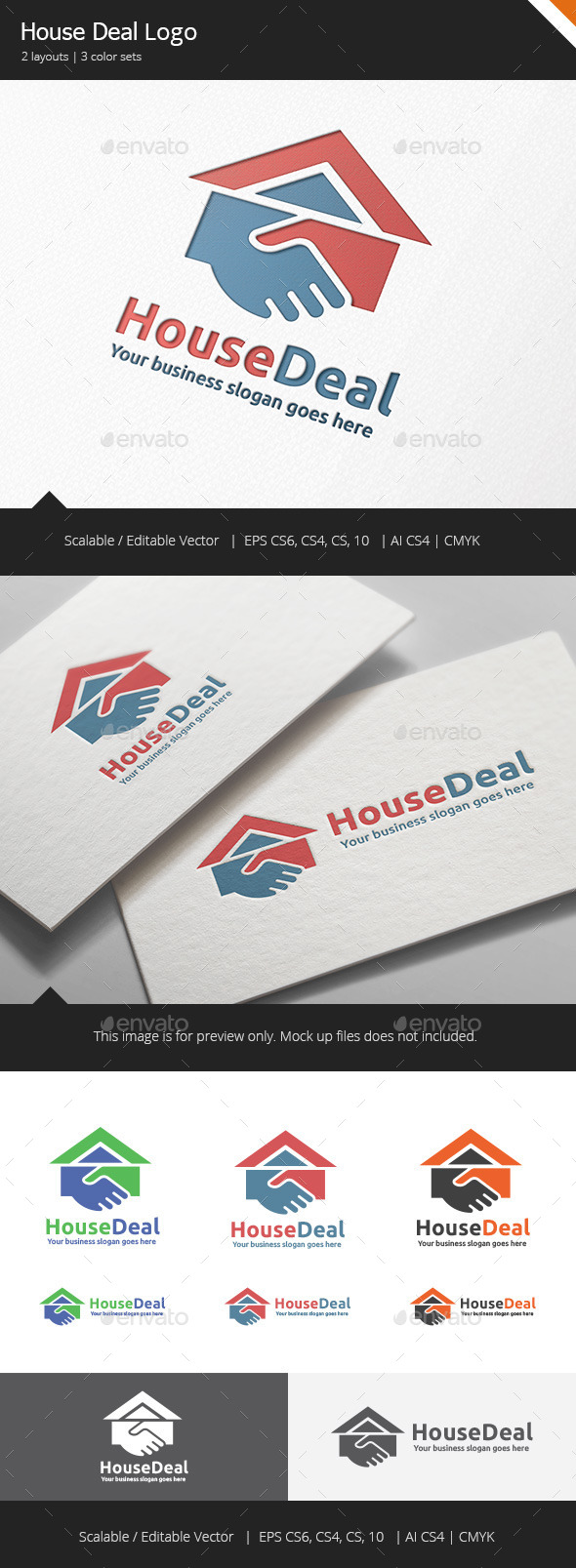 GraphicRiver Home Deal V2 Logo 11579855