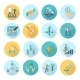 Compliance Icons Flat - GraphicRiver Item for Sale