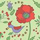 Set of Three Garden Seamless Patterns - GraphicRiver Item for Sale