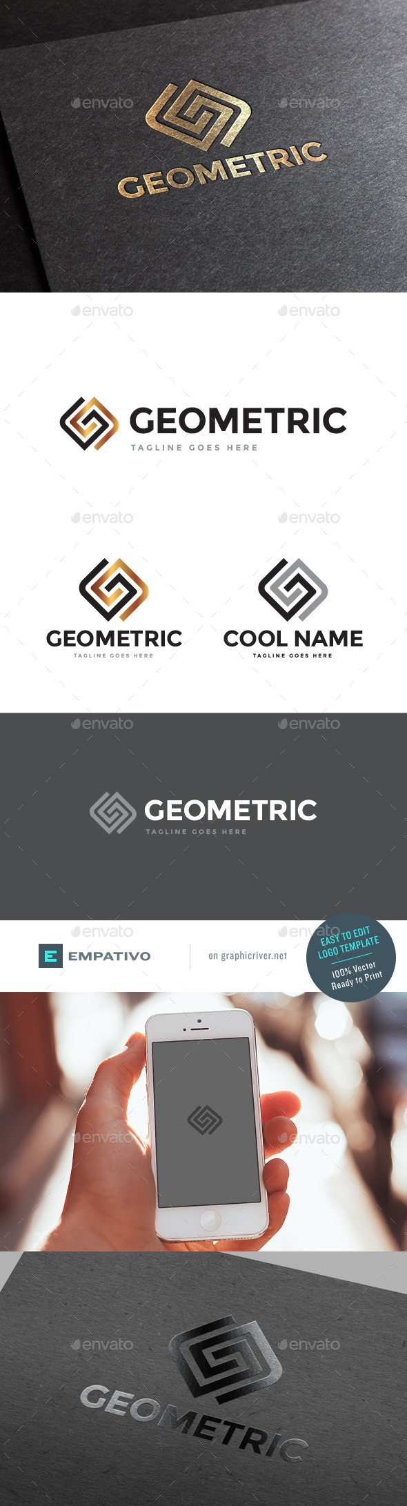 GraphicRiver Geometric Logo Template 11580017