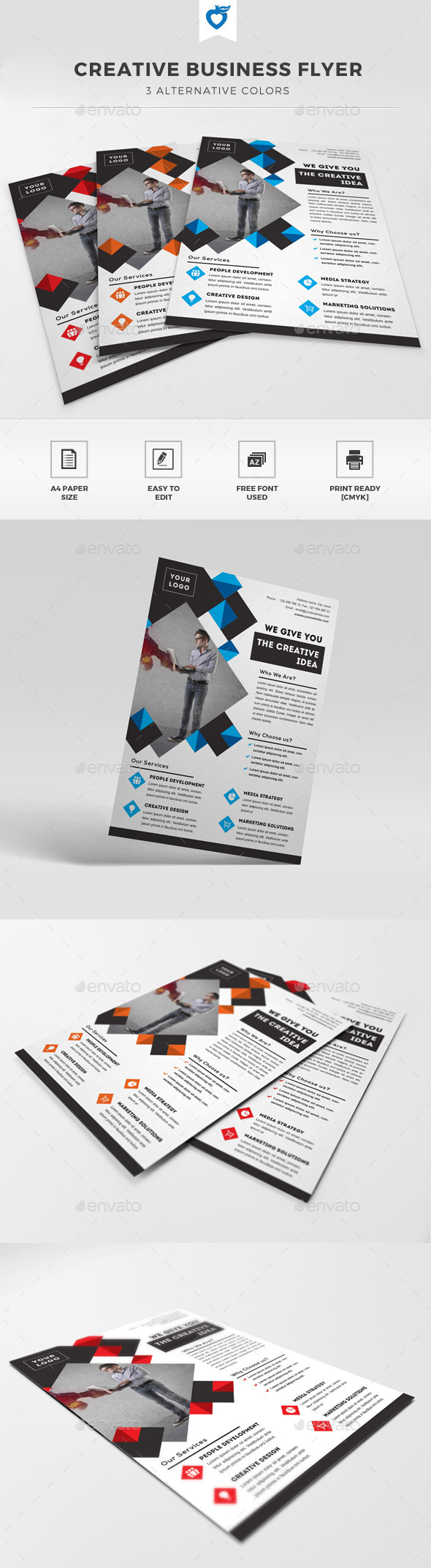GraphicRiver Creative Business Flyer 11580031
