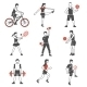 Sport People Icons - GraphicRiver Item for Sale