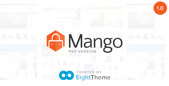 ThemeForest Mango Responsive eCommerce PSD Template 11496103