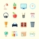 Room Interior Icons - GraphicRiver Item for Sale