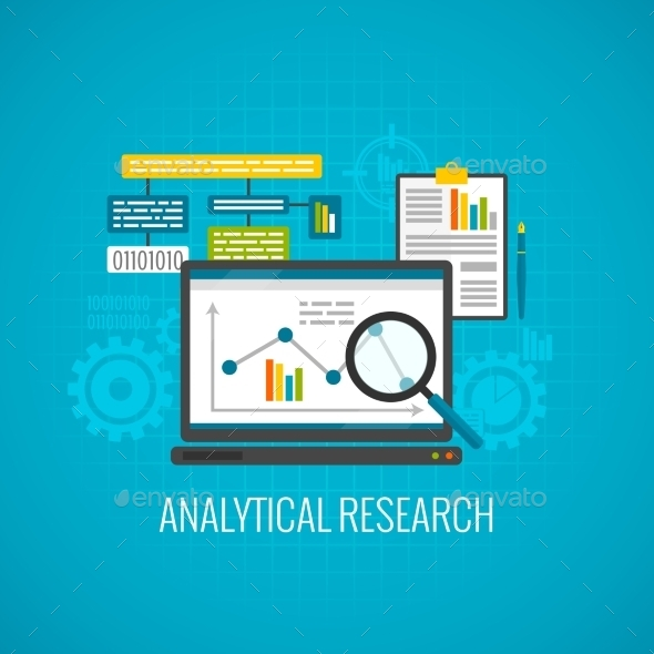 GraphicRiver Data and Analytical Research Icon 11580845