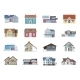 House Icons Flat - GraphicRiver Item for Sale