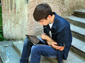 Teenager with Tablet Computer - PhotoDune Item for Sale