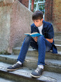Teenager with a Book - PhotoDune Item for Sale