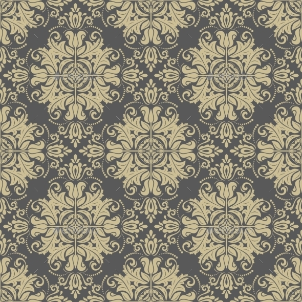 GraphicRiver Damask Seamless Pattern 11581279