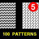 100 Mini Pattern Collection Vol- 5.0  - GraphicRiver Item for Sale