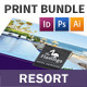 Beach Resort Print Bundle - GraphicRiver Item for Sale