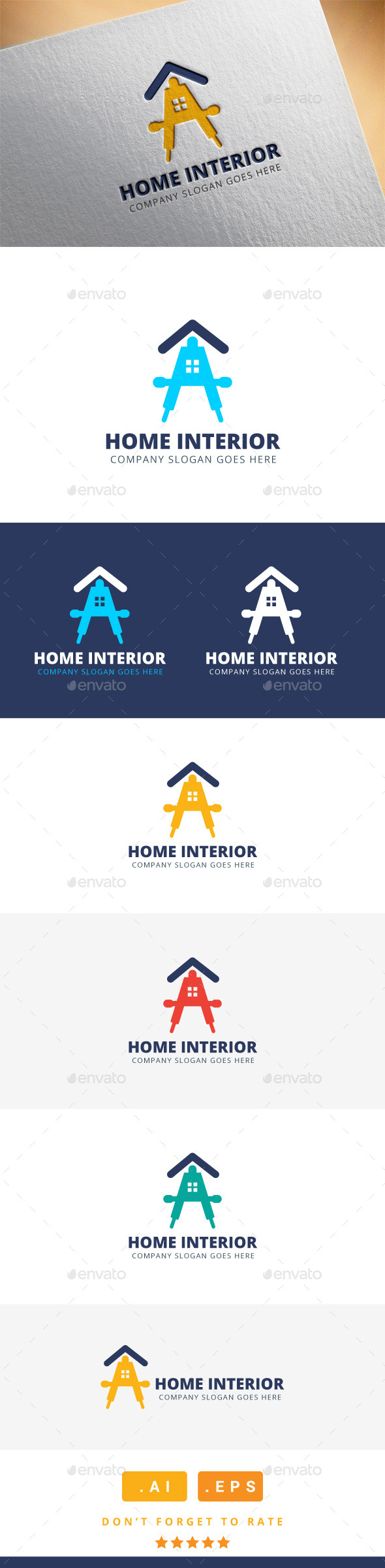 GraphicRiver Home Interior Logo 11582002