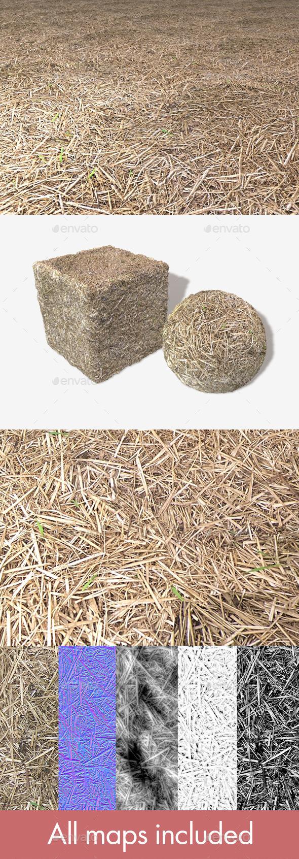 Straw Seamless Texture