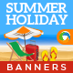 Summer Holiday Sale Banners - GraphicRiver Item for Sale