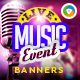 Music Event Banners - GraphicRiver Item for Sale