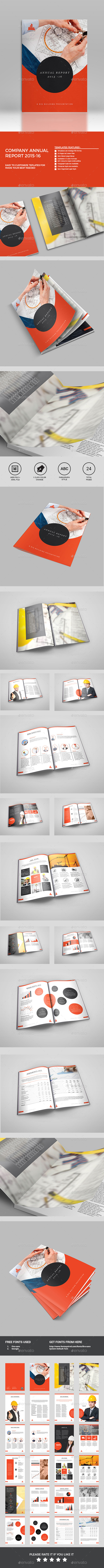 GraphicRiver Annual Report 11582171