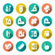 Set Flat Icons of Hygiene - GraphicRiver Item for Sale