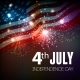 Fireworks Background for 4th of July - GraphicRiver Item for Sale
