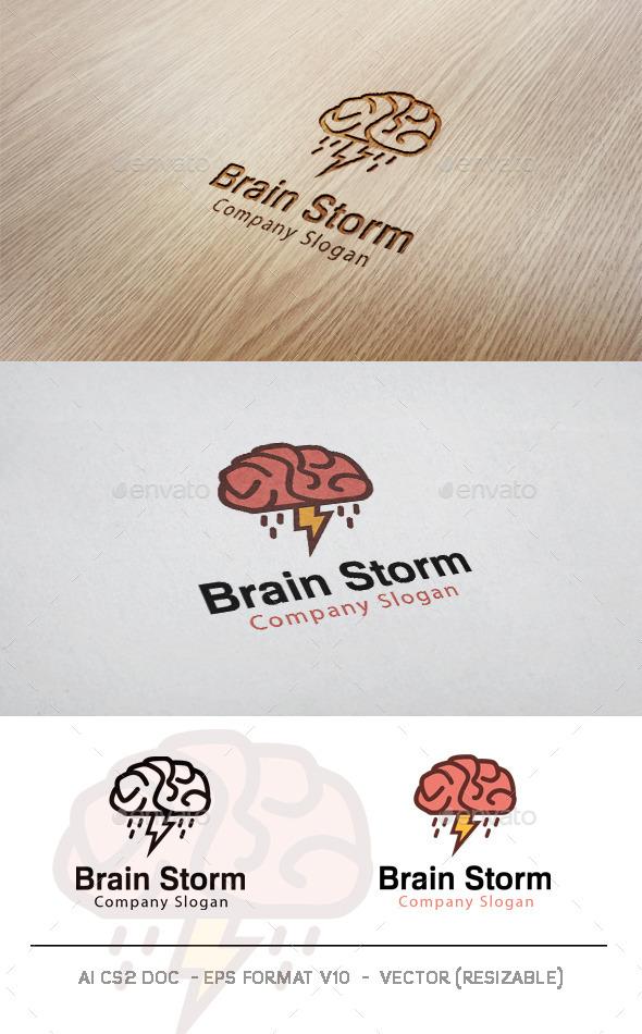 GraphicRiver Brain Storm V2 Logo 11565453