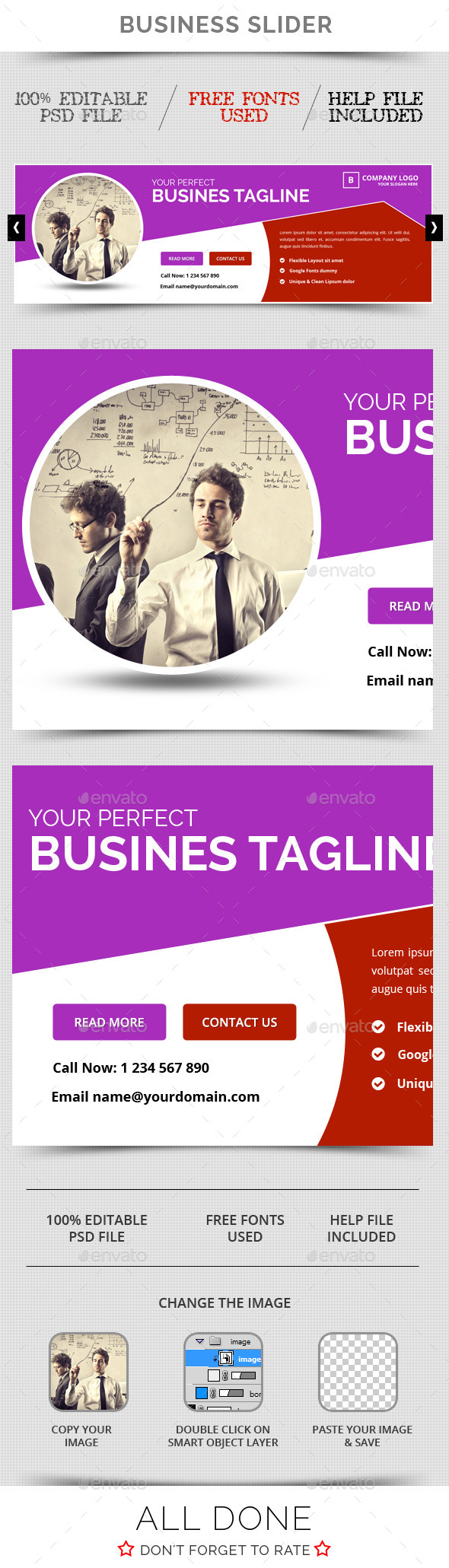 GraphicRiver Business Slider V22 11582443