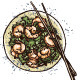 Seafood Prawn Salad - GraphicRiver Item for Sale