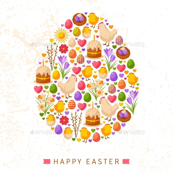 GraphicRiver Happy Easter Day 11582912