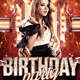 Birth Day Party Flyer Template - GraphicRiver Item for Sale