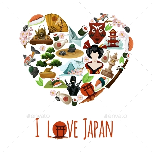 GraphicRiver Love Japan Poster 11583641