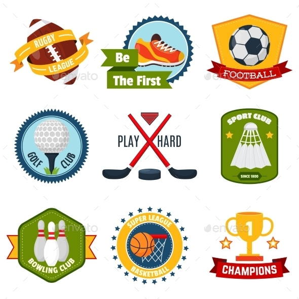 GraphicRiver Sports Logo Set 11583644